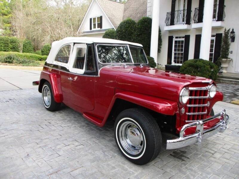 1950 Willys Jeepster for sale at Classic Investments in Marietta GA