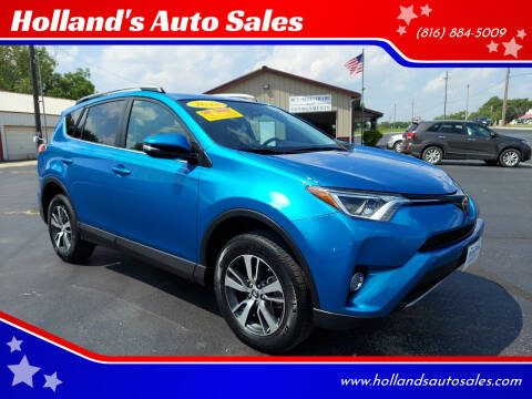 2018 Toyota RAV4 for sale at Holland's Auto Sales in Harrisonville MO