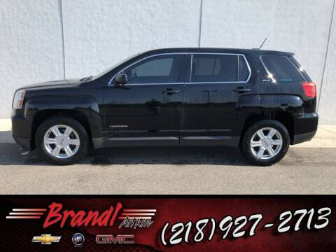 2016 GMC Terrain for sale at Brandl GM in Aitkin MN
