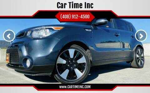 2015 Kia Soul for sale at Car Time Inc in San Jose CA