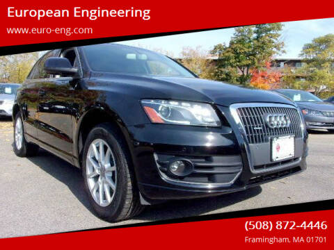 2012 Audi Q5 for sale at European Engineering in Framingham MA