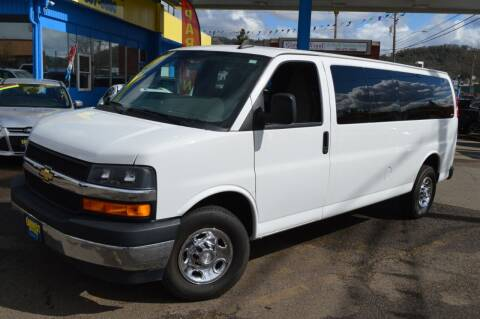 2018 Chevrolet Express Passenger for sale at Earnest Auto Sales in Roseburg OR