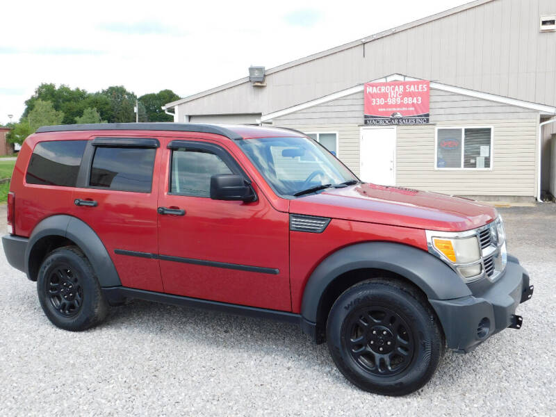 2007 Dodge Nitro for sale at Macrocar Sales Inc in Akron OH