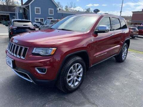 2015 Jeep Grand Cherokee for sale at SCHURMAN MOTOR COMPANY in Lancaster NH