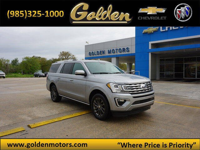 2020 Ford Expedition MAX for sale at GOLDEN MOTORS in Cut Off LA