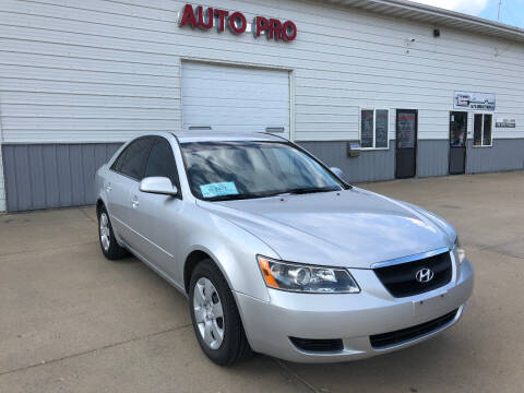 2008 Hyundai Sonata for sale at AUTO PRO in Brookings SD