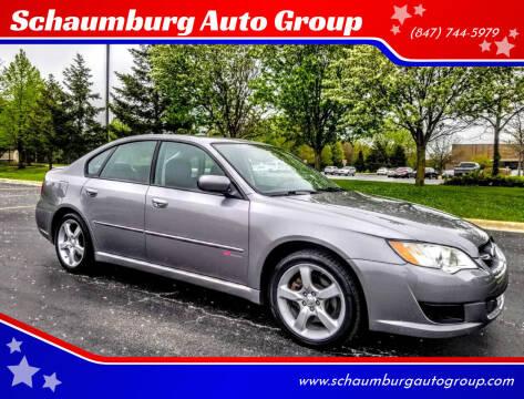 2008 Subaru Legacy for sale at Schaumburg Auto Group in Schaumburg IL