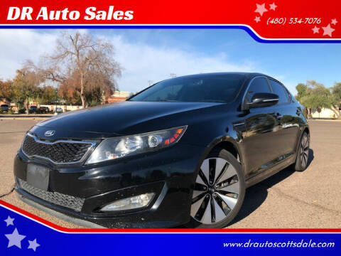 2013 Kia Optima for sale at DR Auto Sales in Scottsdale AZ