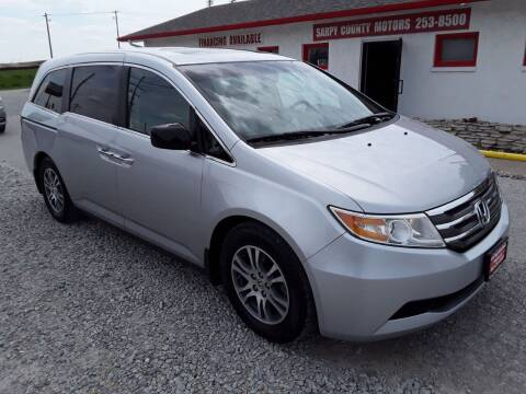 2011 Honda Odyssey for sale at Sarpy County Motors in Springfield NE