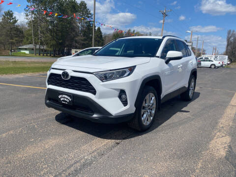 2019 Toyota RAV4 for sale at Affordable Auto Sales in Webster WI