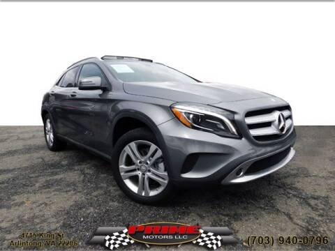 2015 Mercedes-Benz GLA for sale at PRIME MOTORS LLC in Arlington VA