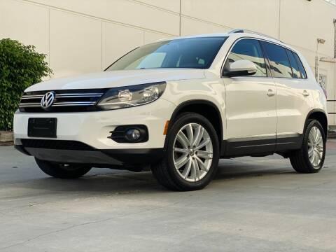 2014 Volkswagen Tiguan for sale at New City Auto - Retail Inventory in South El Monte CA