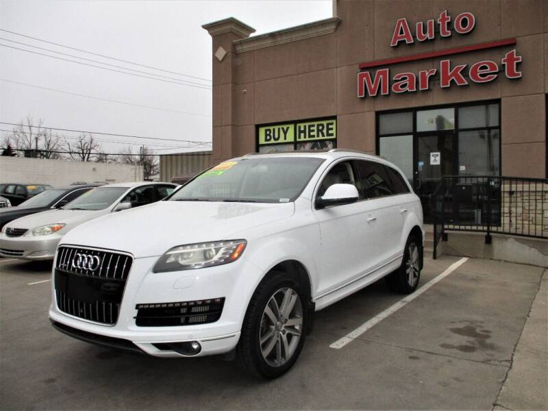 2013 Audi Q7 for sale at Auto Market in Oklahoma City OK