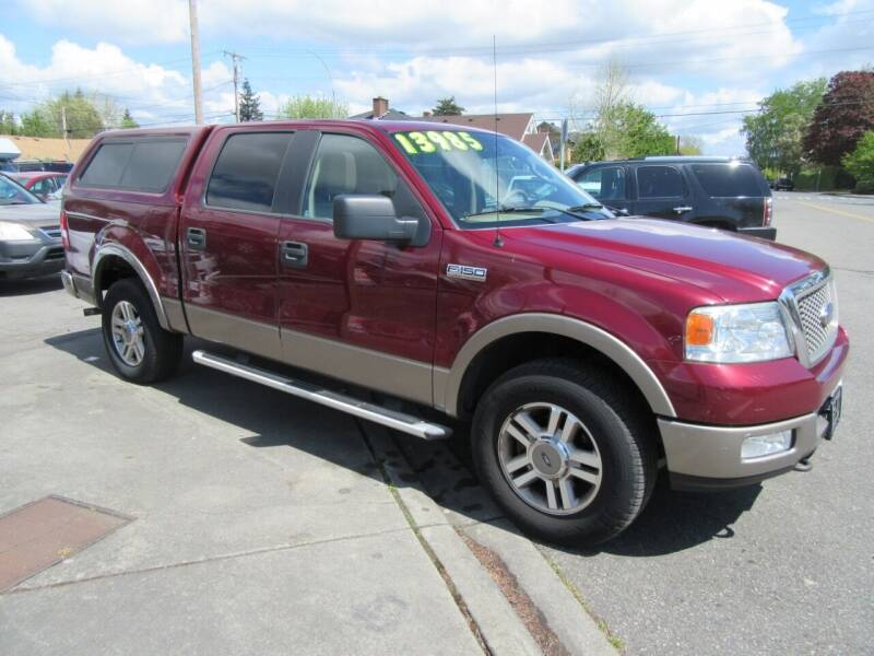 2005 Ford F-150 for sale at Car Link Auto Sales LLC in Marysville WA