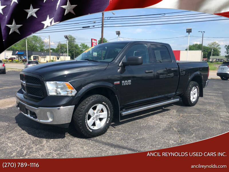 2016 RAM Ram Pickup 1500 for sale at Ancil Reynolds Used Cars Inc. in Campbellsville KY