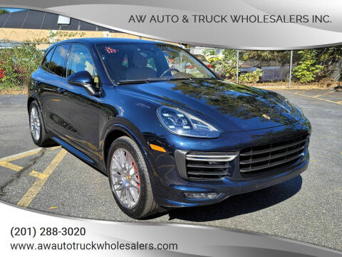 2016 Porsche Cayenne for sale at AW Auto & Truck Wholesalers  Inc. in Hasbrouck Heights NJ