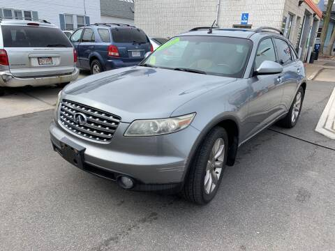 2003 Infiniti FX35 for sale at Quincy Shore Automotive in Quincy MA