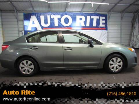 2014 Subaru Impreza for sale at Auto Rite in Cleveland OH