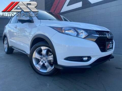 2016 Honda HR-V for sale at Auto Republic Fullerton in Fullerton CA