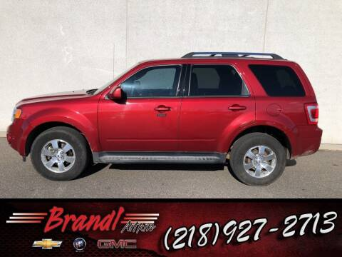 2012 Ford Escape for sale at Brandl GM in Aitkin MN