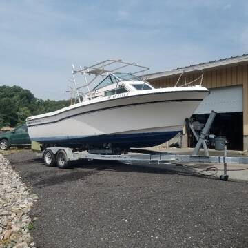 1985 Grady White Offshore 24 for sale at Discount Motor Sales inc. in Ludlow MA