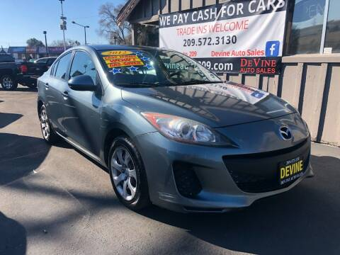 2012 Mazda MAZDA3 for sale at Devine Auto Sales in Modesto CA