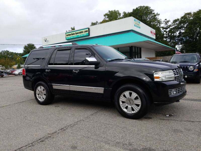 2010 Lincoln Navigator for sale at Action Auto Specialist in Norfolk VA