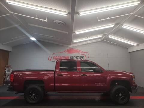 2014 Chevrolet Silverado 1500 for sale at Premium Motors in Villa Park IL