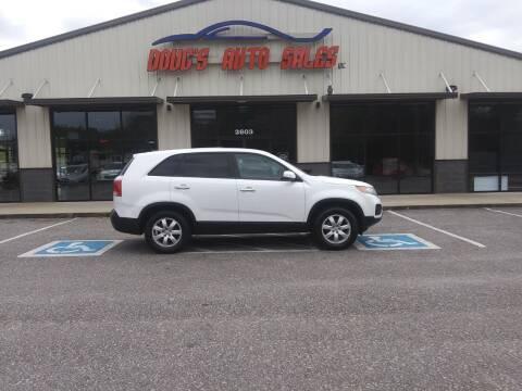 2012 Kia Sorento for sale at DOUG'S AUTO SALES INC in Pleasant View TN