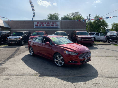 2014 Ford Fusion for sale at Brothers Auto Group in Youngstown OH