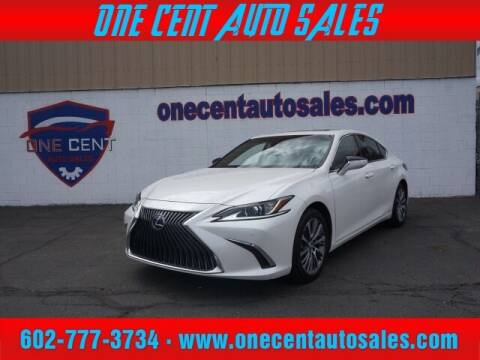 2020 Lexus ES 300h for sale at One Cent Auto Sales in Glendale AZ