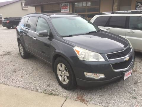 2011 Chevrolet Traverse for sale at G LONG'S AUTO EXCHANGE in Brazil IN