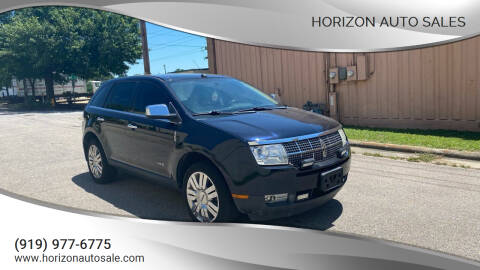 2009 Lincoln MKX for sale at Horizon Auto Sales in Raleigh NC