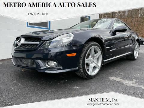 2009 Mercedes-Benz SL-Class for sale at METRO AMERICA AUTO SALES of Manheim in Manheim PA
