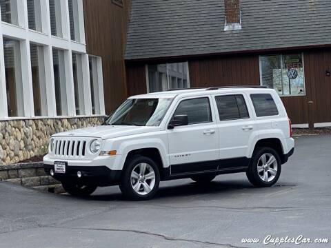 2013 Jeep Patriot for sale at Cupples Car Company in Belmont NH