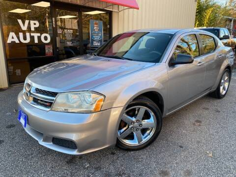 2013 Dodge Avenger for sale at VP Auto in Greenville SC