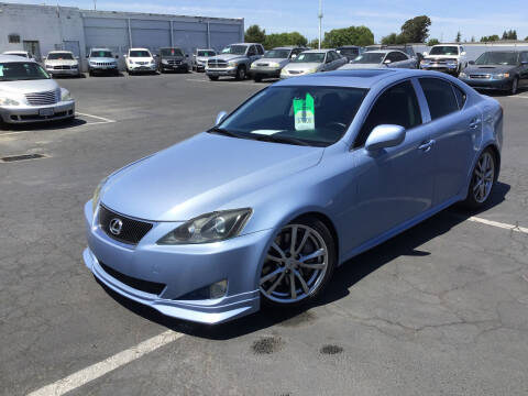 2006 Lexus IS 350 for sale at My Three Sons Auto Sales in Sacramento CA