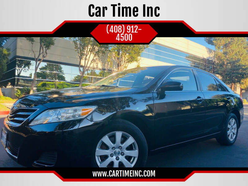 2011 Toyota Camry for sale at Car Time Inc in San Jose CA