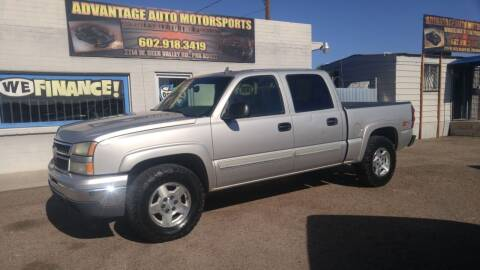 2006 GMC Sierra 1500 for sale at Advantage Auto Motorsports in Phoenix AZ