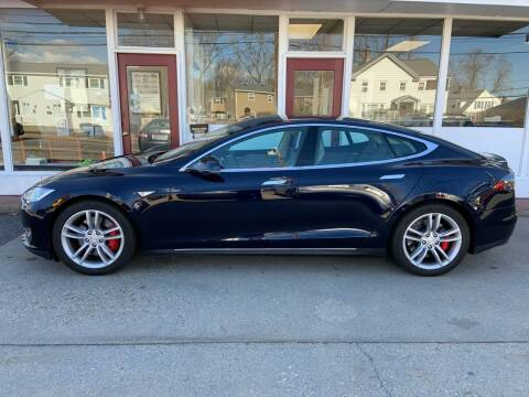 2014 Tesla Model S for sale at O'Connell Motors in Framingham MA