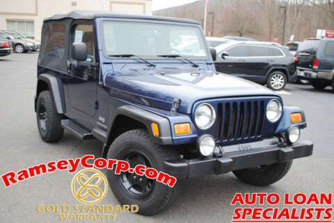 2005 Jeep Wrangler for sale at Ramsey Corp. in West Milford NJ