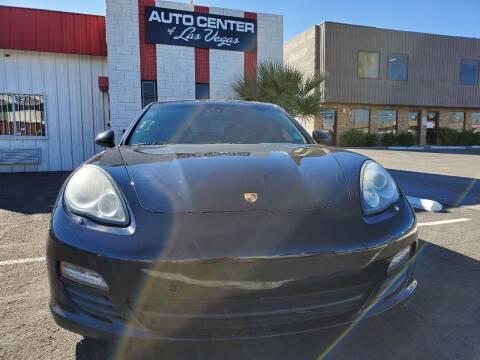 2012 Porsche Panamera for sale at Auto Center Of Las Vegas in Las Vegas NV