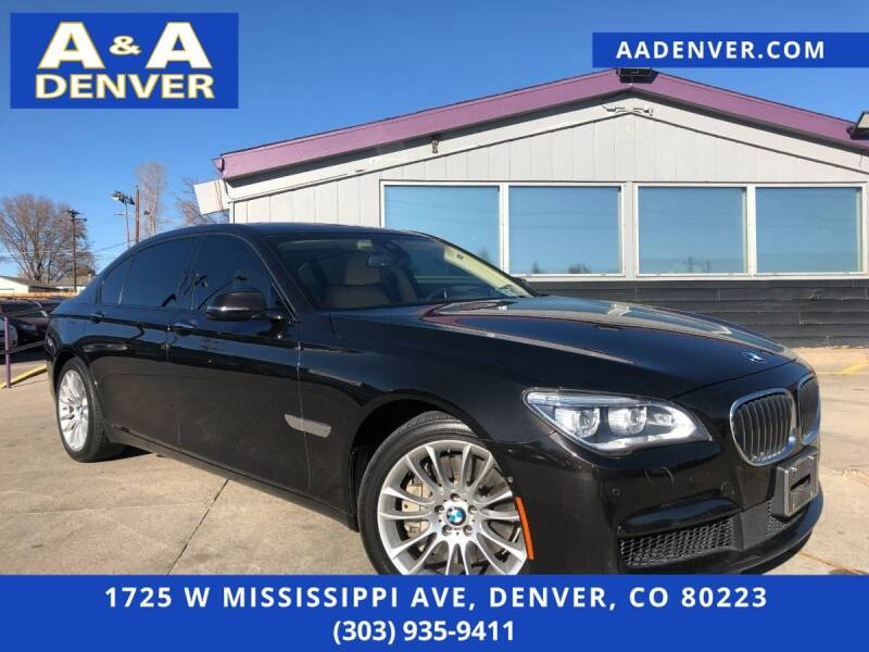 2015 BMW 7 Series for sale at A & A AUTO LLC in Denver CO