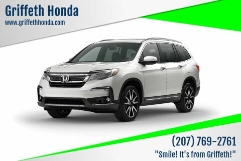 2021 Honda Pilot for sale at Griffeth Honda in Presque Isle ME