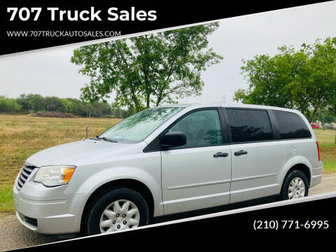 2008 Chrysler Town and Country for sale at 707 Truck Sales in San Antonio TX