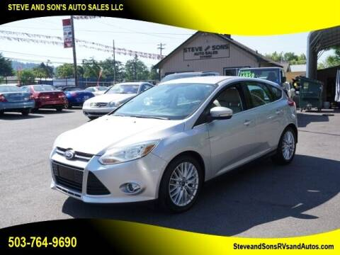 2012 Ford Focus for sale at Steve & Sons Auto Sales in Happy Valley OR
