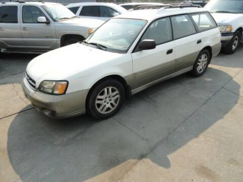 2002 Subaru Outback for sale at Gridley Auto Wholesale in Gridley CA