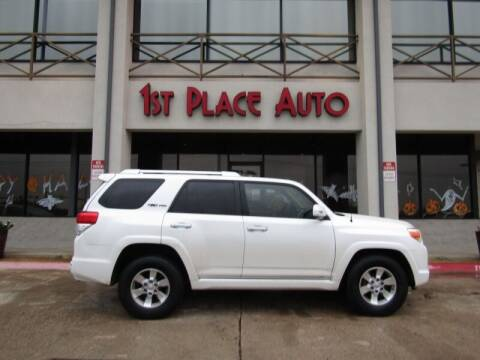 2010 Toyota 4Runner for sale at First Place Auto Ctr Inc in Watauga TX