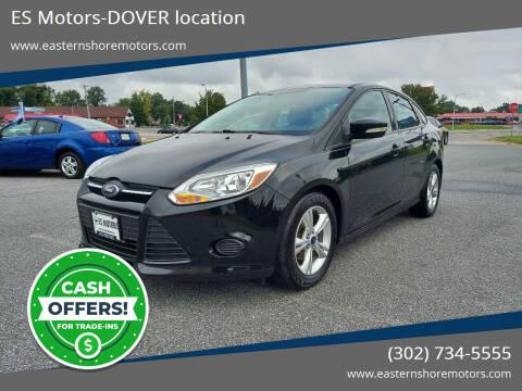 2014 Ford Focus for sale at ES Motors-DAGSBORO location - Dover in Dover DE