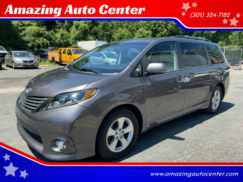 2014 Toyota Sienna for sale at Amazing Auto Center in Capitol Heights MD